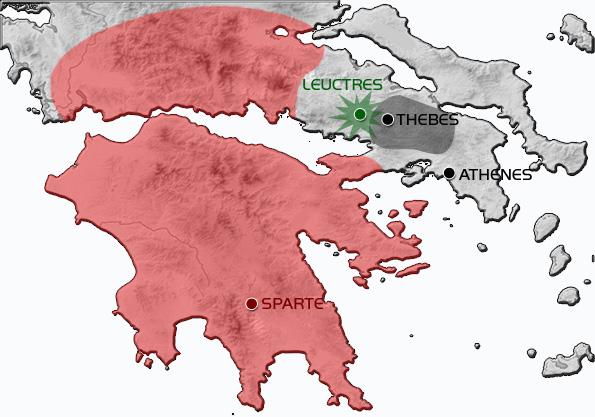 Bataille de Leuctres - 371 av. JC - René HYS