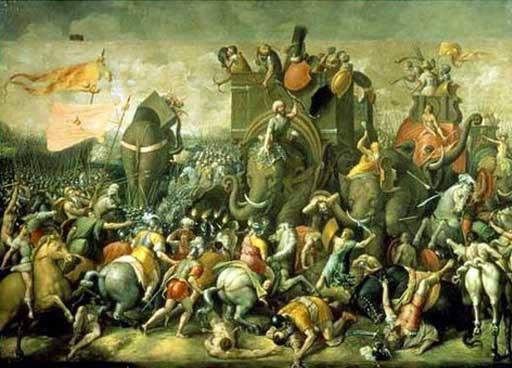 Bataille de Zama - 202 av. JC - René HYS